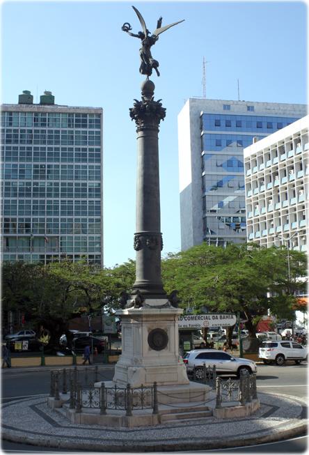 1e3b816af9 A Praça Riachuelo por volta de 1930